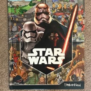 3/$15 Star Wars Look and Find hardcover book